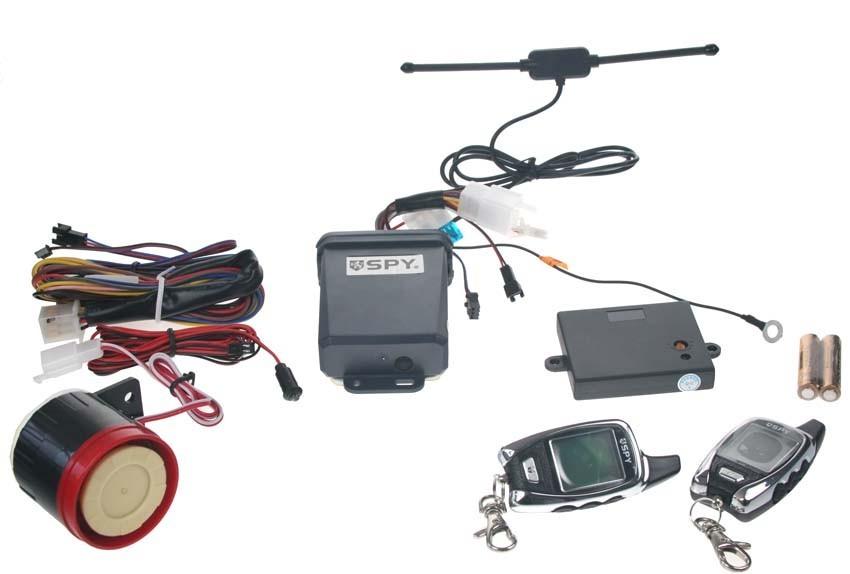 Motocyklový alarm Spy 2-WAY